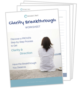 Download THIS Ultimate Clarity Breakthrough Worksheet... Have the Breakthrough You Deserve!